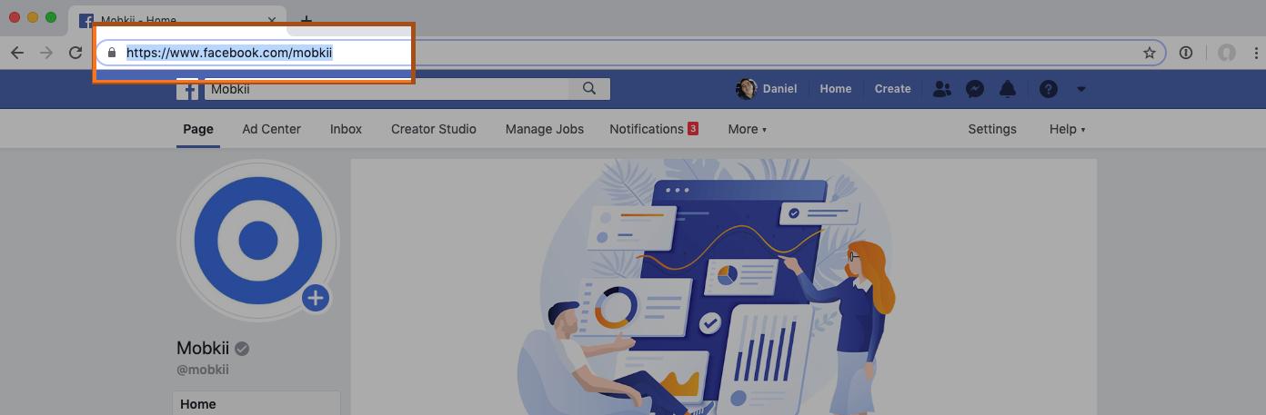 Cómo sacar la URL de Facebook