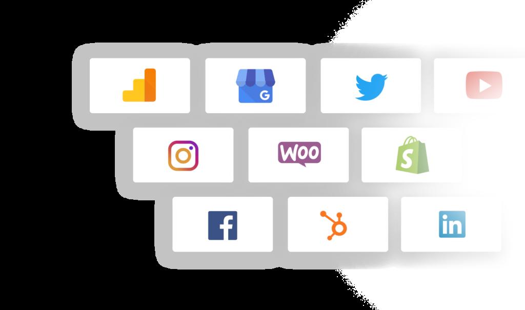 Integraciones de Reporte de Marketing Digital