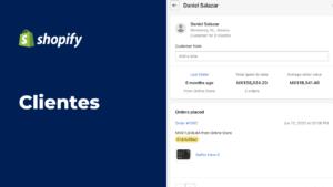 Cómo administrar clientes en Shopify | Mobkii