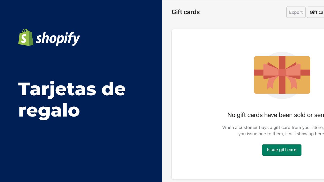 Tarjetas de Regalo | Shopify