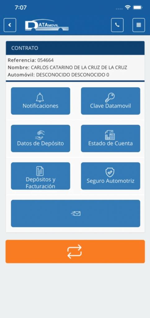 Datamovil Go App por Mobkii