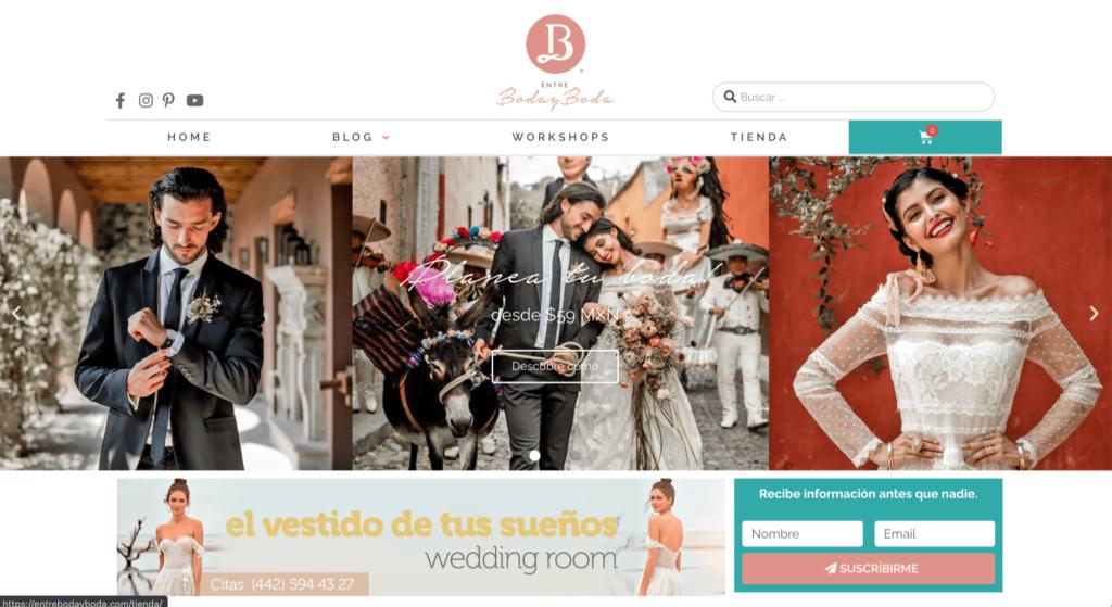 Entre boda y boda blog por Mobkii