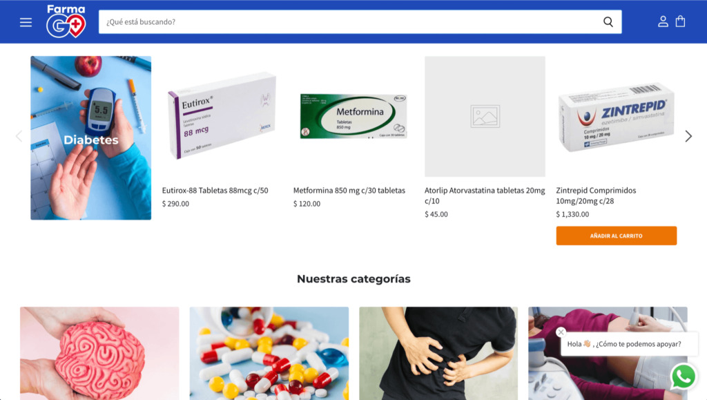 FGO - Farmacia en línea por Mobkii