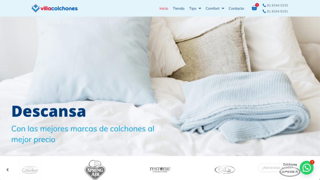Villacolchones - Tienda en línea de Colchones