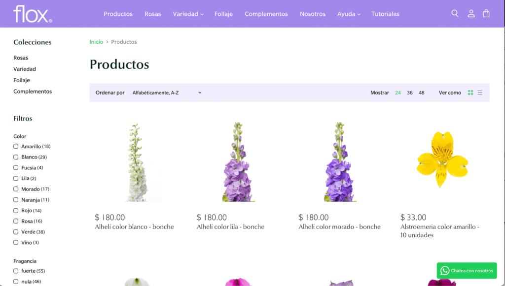 Flores Flox - Venta en línea de flores al mayoreo