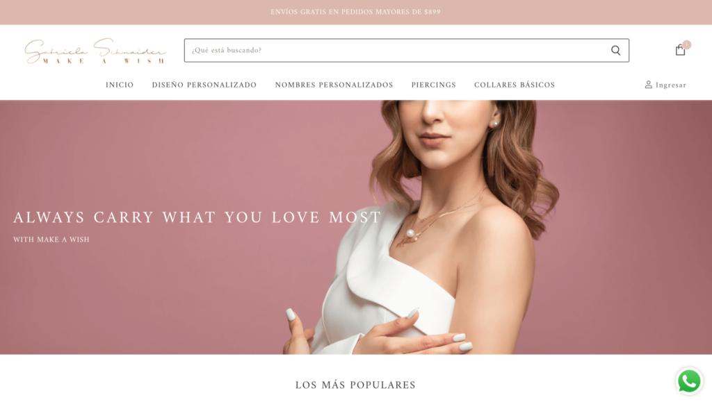 Gabriela Schnaider - Tienda en línea de joyería