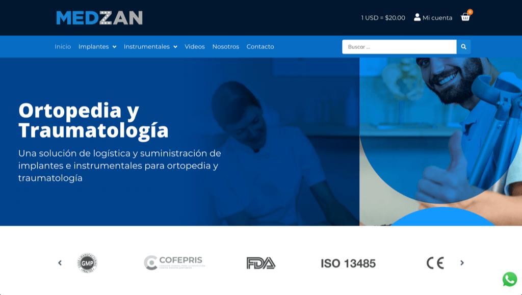Medzan - Tienda en línea de equipo de traumatología